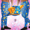 Gaming Party Pants 1P (Team Burr) - PretendAgain