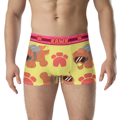 Triceratops ToyTrunks - Trunk Briefs (Red) - PretendAgain
