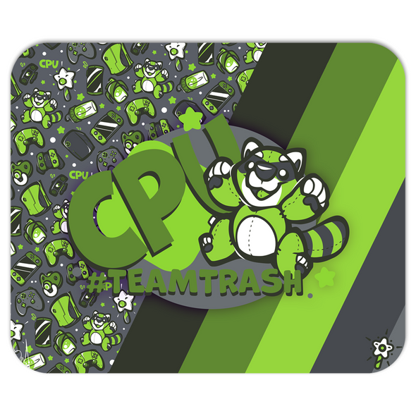 Gaming Party CPU Mousepad (Team Trash) - PretendAgain