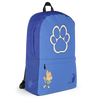 Puppy Time Diaper Bagpack (Blue) - PretendAgain