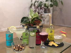 VnC non-alcoholic cocktail mixer of your choice 300ml Libbey Poco Grande Cocktail Glass 392ml mojito margarita cosmopolitan colada