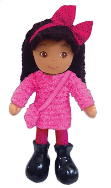 Emme Eclectic Pink Plush Doll