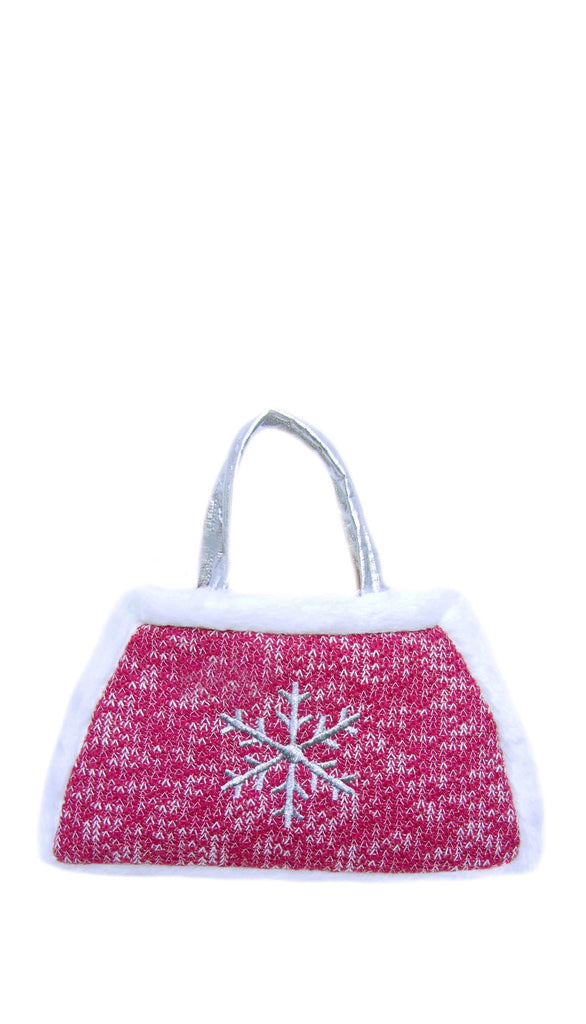 Snowflake Toddler purse-sale!