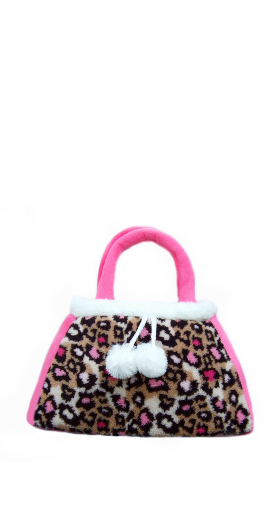 Leopard toddler purse