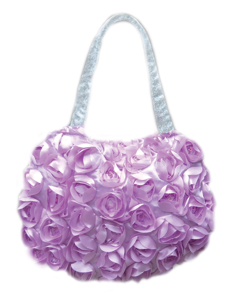New! Purple Flower Toddler purse