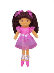 Elana Multicolor Ballerina Doll - Tan