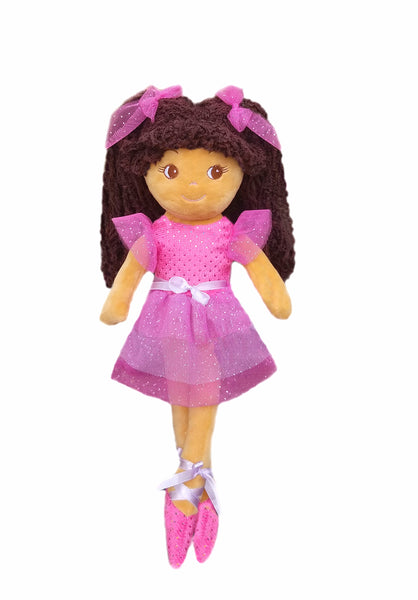 Elana Multicolor Ballerina Doll - Tan sale!