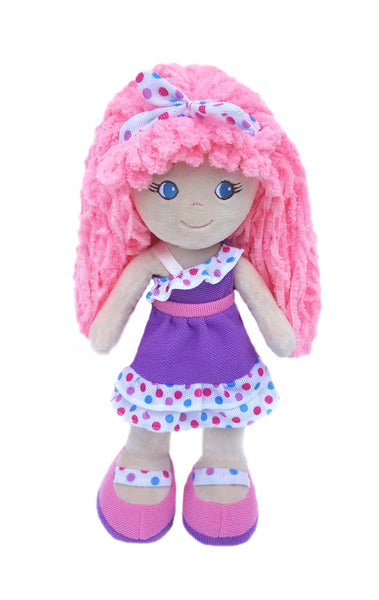 Leila Purple Ruffles Baby Doll
