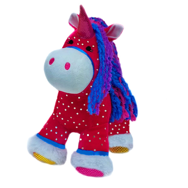 Sparkles the Plush Unicorn- sale!