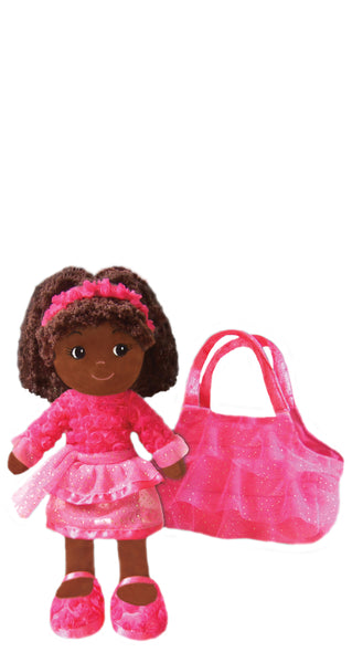 New! Elana Dancer Doll with Purse