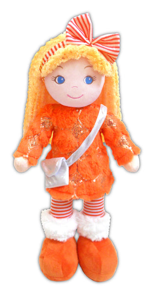 Cameron  Hip Hop Orange Plush Doll