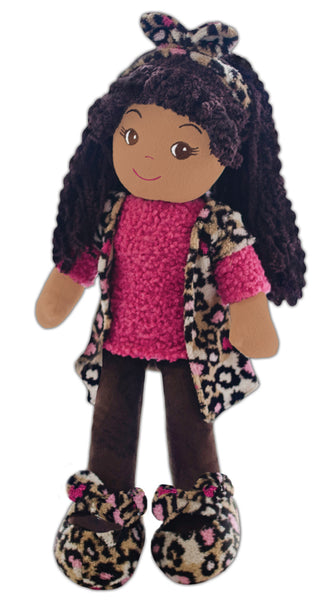 Emme Pink Leopard Toddler Doll & Purse set- sale!