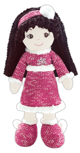 Jessica Snowflake Toddler Doll- sale!