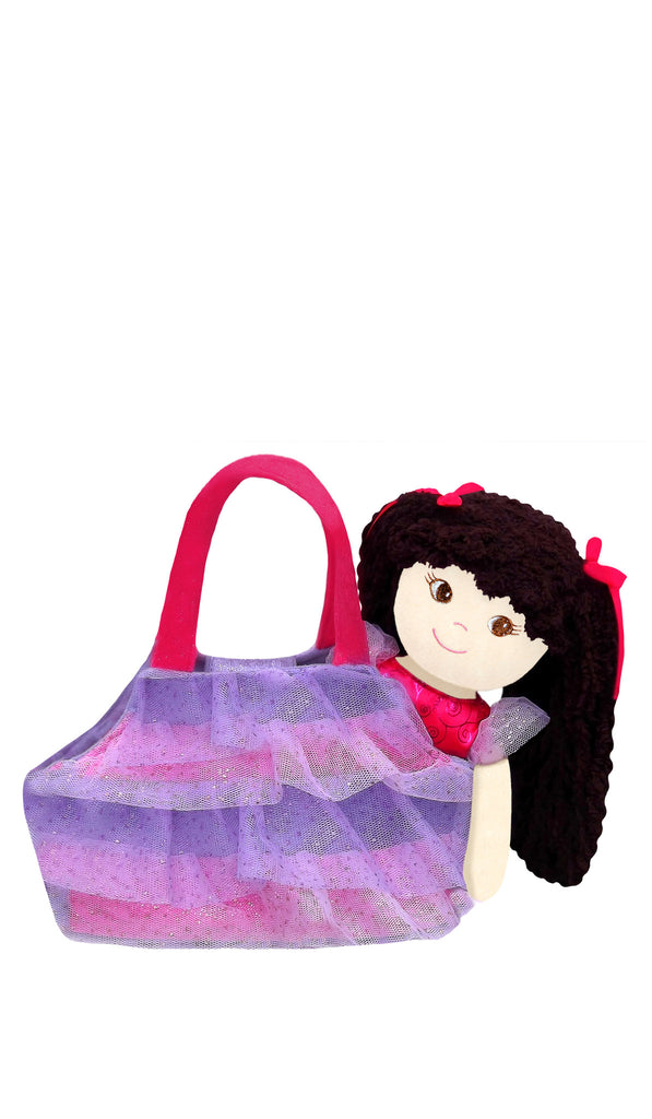 Jessica Ballerina Rag Doll with purse
