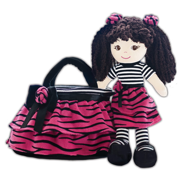 Jessica dress up Toddler doll & Purse set