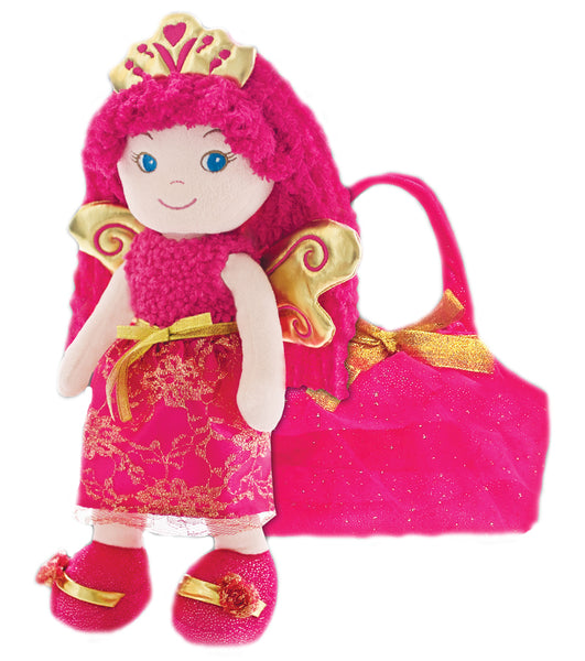 Leila Fairy Princess Doll with bag- sale