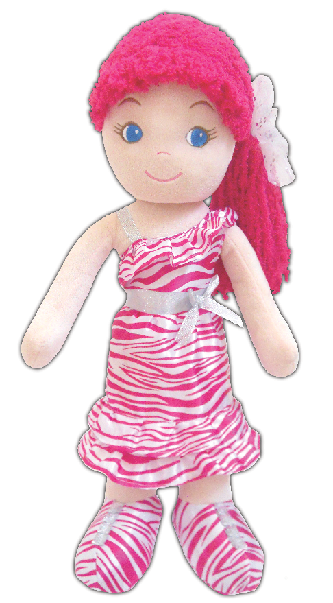 Leila Glam Girl Toddler Doll - clearance