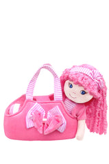 Leila Pink Dress up Doll with bag