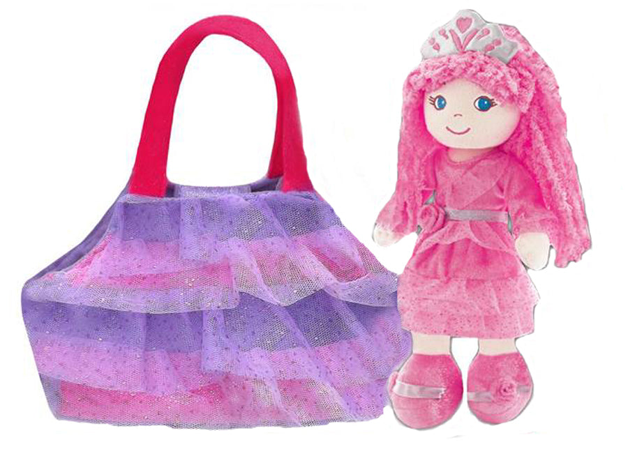 New! Leila Princess Doll with bag