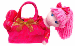 Leila Dancer Rag Doll with Purse- sale!