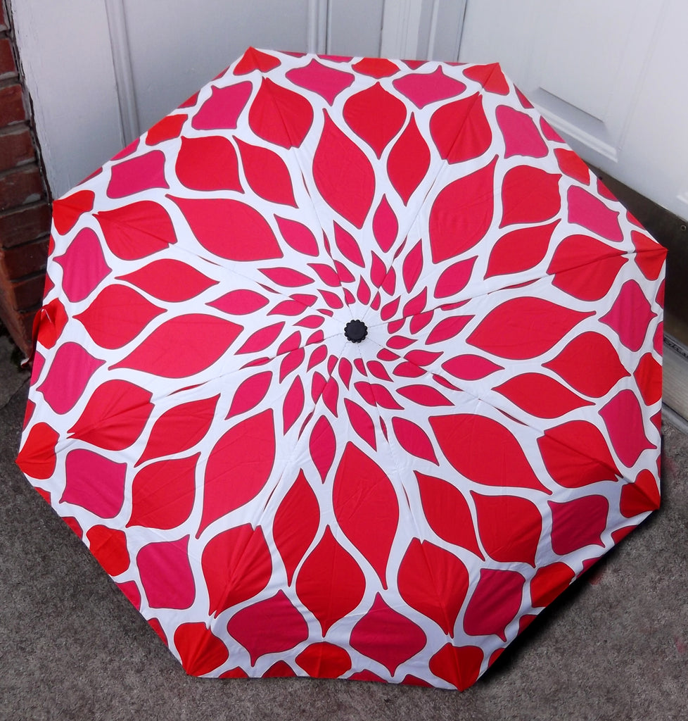 Flower Bloom Compact Umbrella-Auto Open/Close