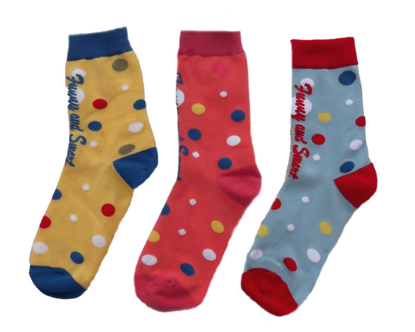 Funny & Smart Children Socks - 3 pack