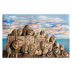 """Water of Life Lions #1"""