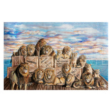 "Load image into Gallery viewer, ""Water of Life Lions #1"""