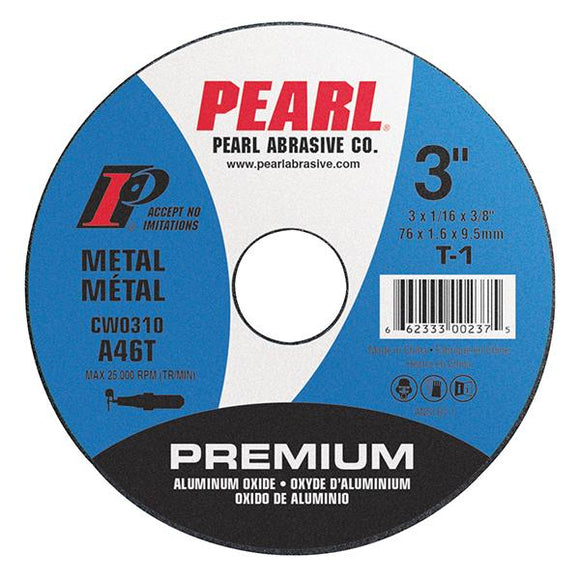 CW0430 Small Diameter Premium Aluminum Oxide Cut-Off Wheel (25 Pack) - pmisupplies
