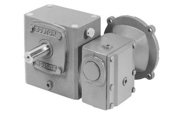 FWC721-2400-B5-G Double Reduction Right Angle Worm Gear Speed Reducer - pmisupplies