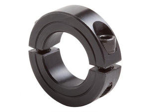 "G2SC-237-B 2-3/8"" Black Oxide Two-Piece Clamping Shaft Collar - pmisupplies"