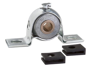 PBPS-BR-100 Standard Duty Stamped Steel Pillow Block Mounted Bearing - pmisupplies