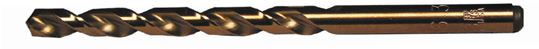 00252 Type XGT-J DIN 338 Length 135° Split Point HSS M-42 Cobalt Drill Bit (10 pack) - pmisupplies