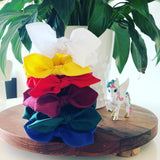 MINI Bow Scrunchies - Back to School