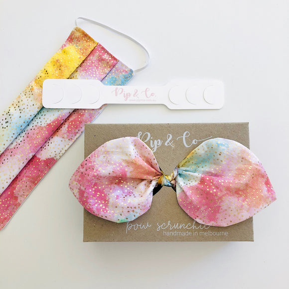 Tutti Fruitti Bow & Mask Set