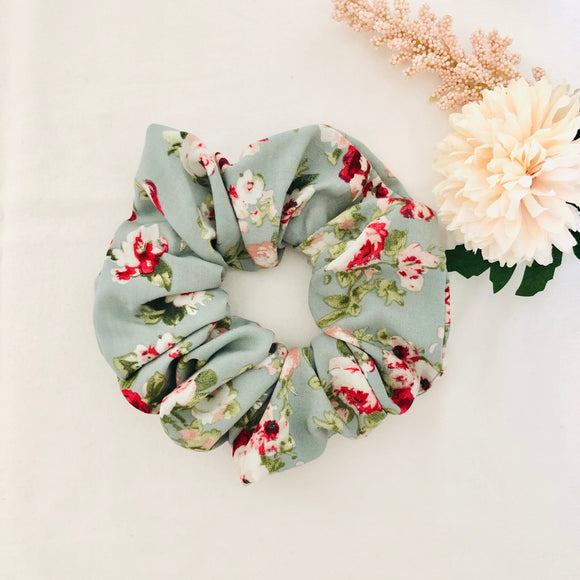 Vintage Rose Scrunchie