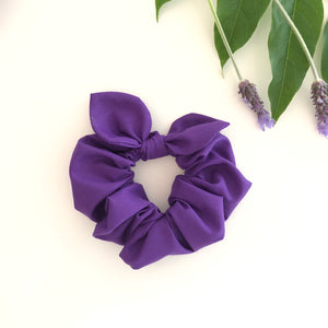 MINI Bow Scrunchie - Amethyst