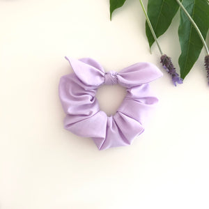 MINI Bow Scrunchie - Lilac