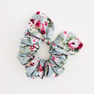 Bow Scrunchie - Vintage Rose