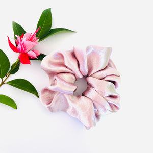 Satin Scrunchie - Blush