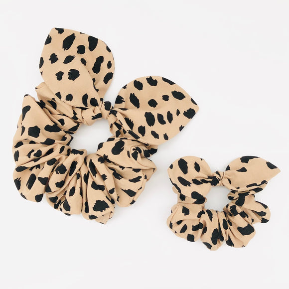Mummy & Me Bow Scrunchies - Savannah