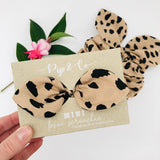 MINI Bow Scrunchie - Savannah