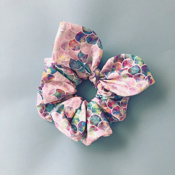 Mermaid Bow Scrunchie Scrunchies