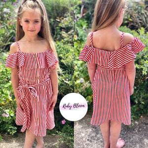 JOCELYN Stripe Dress - Ruby & Ralph Boutique