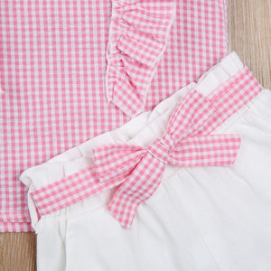 Paige Gingham Set - Ruby & Ralph Boutique