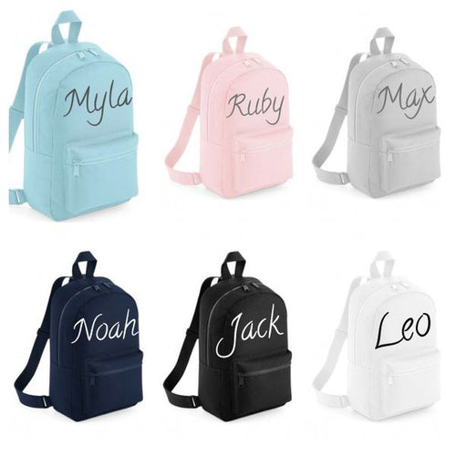 Personalised Mini Essential Kids Bags - Ruby & Ralph Boutique
