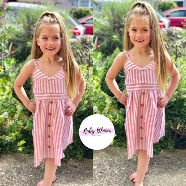 Megan stripe dress - Ruby & Ralph Boutique