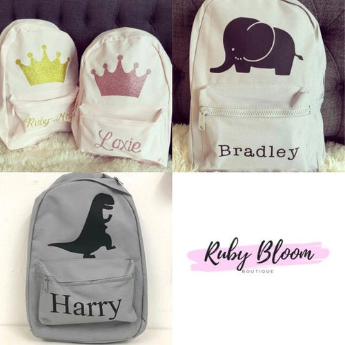Personalised Animation Mini Back Pack - Ruby & Ralph Boutique