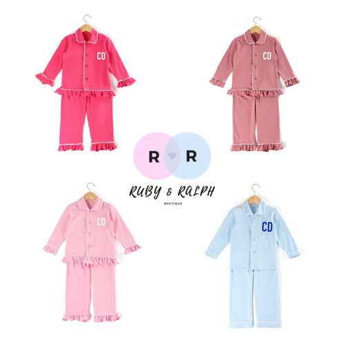 Personalised Long-sleeve Pyjamas - Ruby & Ralph Boutique