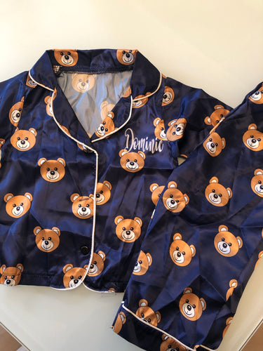 Personalised Teddy Bear Pyjamas - Ruby & Ralph Boutique
